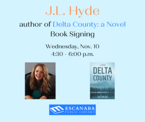 Meet and greet with author J.L. Hyde